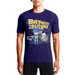 Bat To The Future / Guys TeesShop Online Sexy Printed T shirts Buy Hot Men's Anime T-shirts OSOM WEAR Abstract Anime Art Comics Fantasy Gaming Horror Minimalistic Movies Music TV Shows Sports