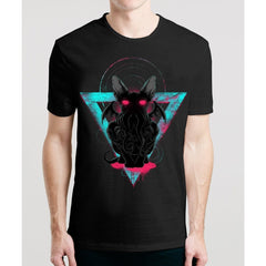 Cathulhu / Guys TeesNew Styles Man Movies T'shirts Must Have GuyTV T.shirts OSOM WEAR Abstract Anime Art Comics Fantasy Gaming Horror Minimalistic Movies Music TV Shows Sports
