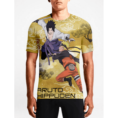 Naruto / Guys TeesShop Online Sexy Anime T-shirts Gift Men's Anime T.shirts OSOM WEAR Abstract Anime Art Comics Fantasy Gaming Horror Minimalistic Movies Music TV Shows Sports