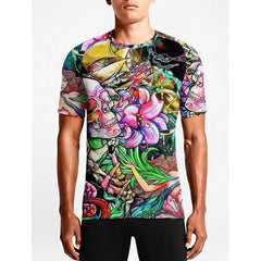 Psychedelic Tattoo / Guys TeesBuy Hot Men Sports T. shirts Shop Online Guys Printed T-shirts OSOM WEAR Abstract Anime Art Comics Fantasy Gaming Horror Minimalistic Movies Music TV Shows Sports