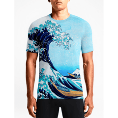 The Wave / Guys TeesShop Online Sexy Printed T'shirts Find Stylish Men's Movies Custom T'shirts OSOM WEAR Abstract Anime Art Comics Fantasy Gaming Horror Minimalistic Movies Music TV Shows Sports