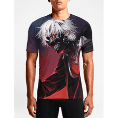 Tokyo Ghoul / Guys TeesShop Online Guys Cool T- shirts Must Have Mens Cool T'shirts OSOM WEAR Abstract Anime Art Comics Fantasy Gaming Horror Minimalistic Movies Music TV Shows Sports