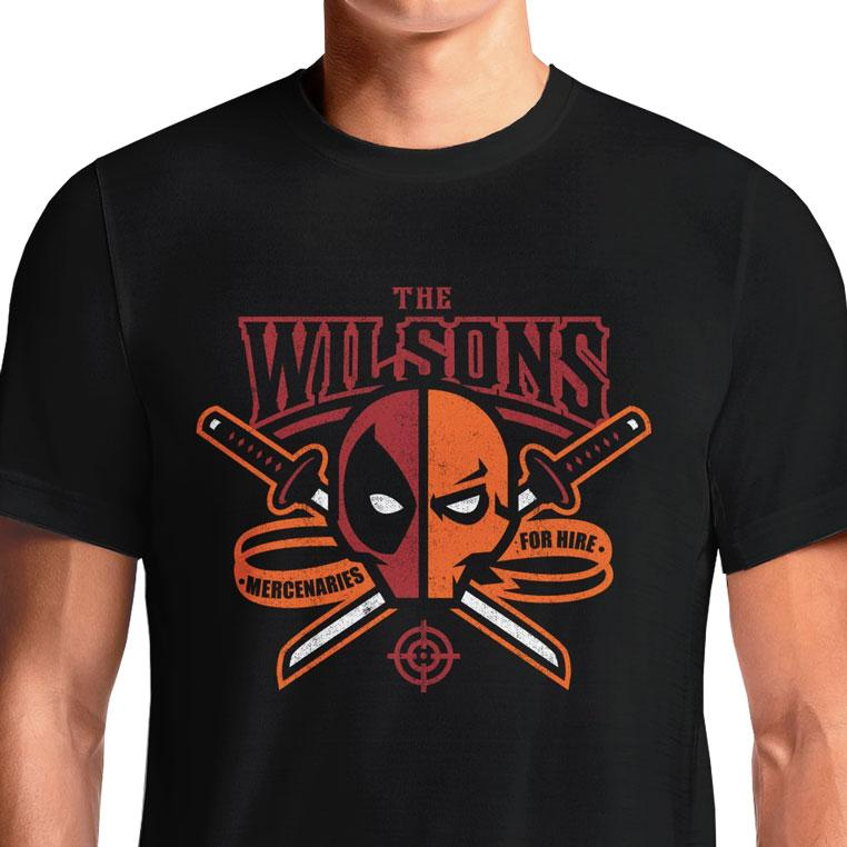Deadpool Deathstroke T-Shirts India Funny Quotes T Shirts Online Shopping Graphic Funky Printed Cool Tees For Mens Slogan Womens Clothing Casual Round Neck