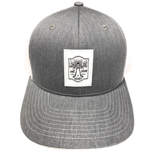 Load image into Gallery viewer, Lighthouse Woven Label Trucker Hats
