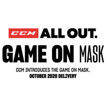 Load image into Gallery viewer, CCM Game On Mask*