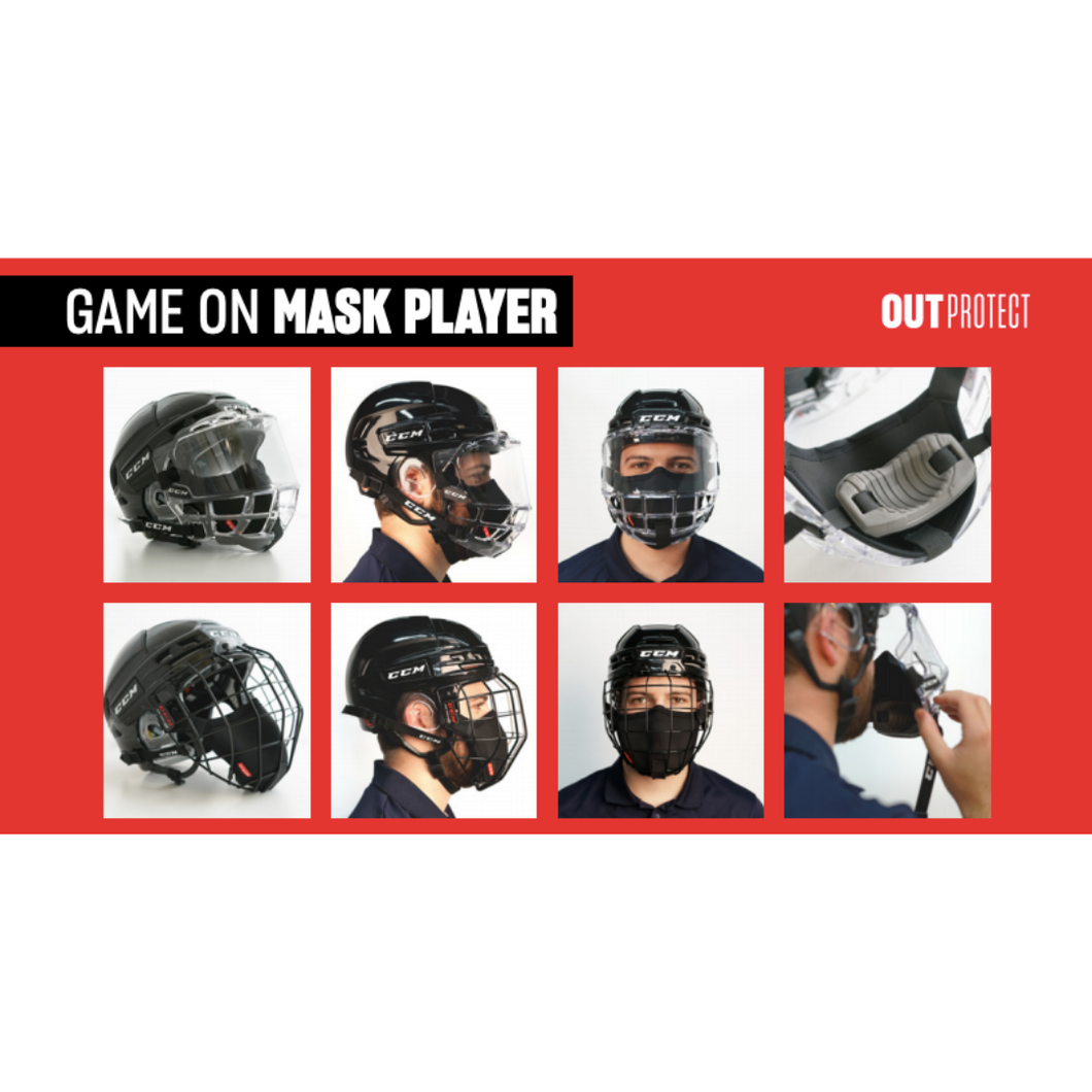 CCM Game On Mask*