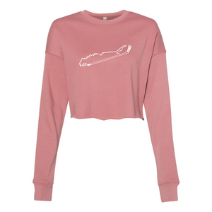 Women's Cropped Crewnecks