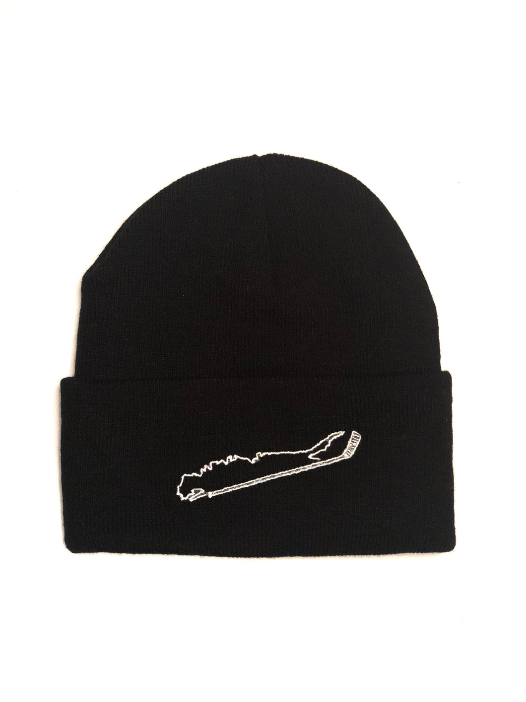 Long Island + Hockey Stick Knit Beanies