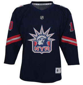 YOUTH Reverse Retro New York Rangers Authentic Jersey (blank)