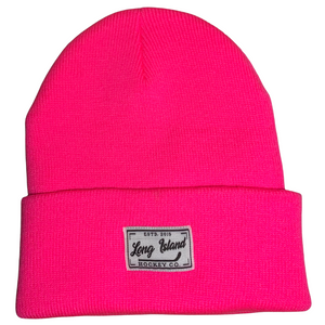 LIHC Woven Label Beanies