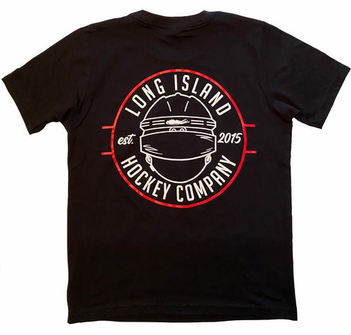 Long Island Hockey Helmet Tee