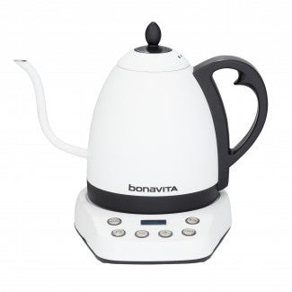 Interurban, Matte White 1.0L Variable Temperature Kettle