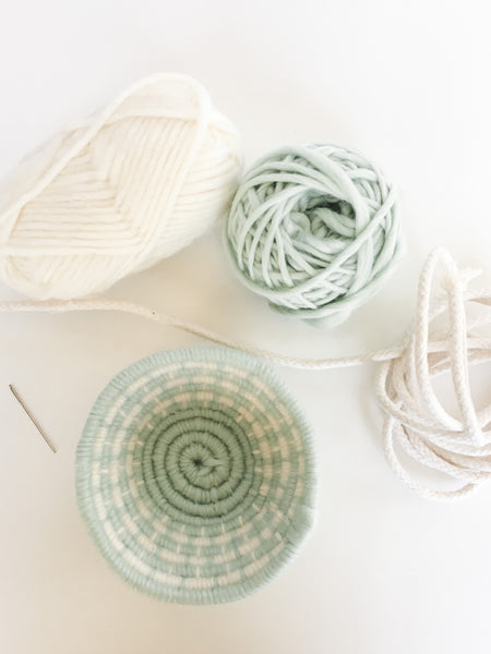 Coiled Basketry Craft Kit | DIY Basketry Craft Kit for Adults and Beginners, Materials and Tutorial