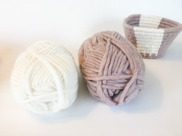 Coiled Basket Project Craft Kit