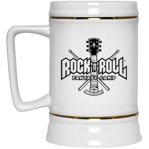 25th anniversary RRFC Beer Stein 22oz.