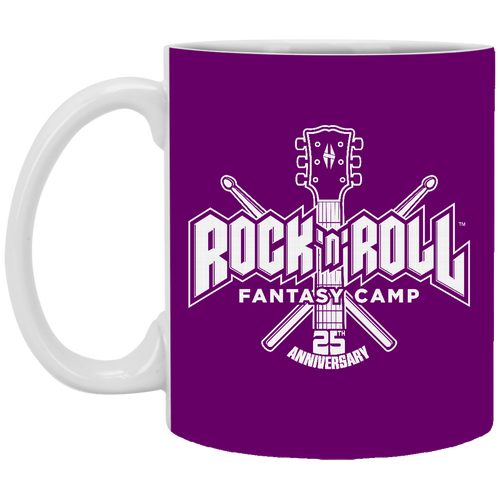 25th anniversary RRFC 11 oz. purple Mug
