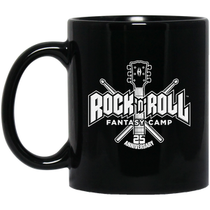 25th anniversary RRFC 11 oz. Black Mug