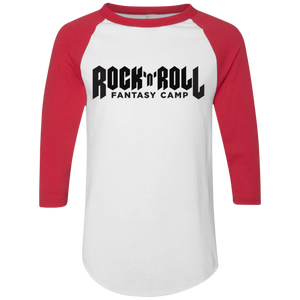 Rock Camp baseball Tee