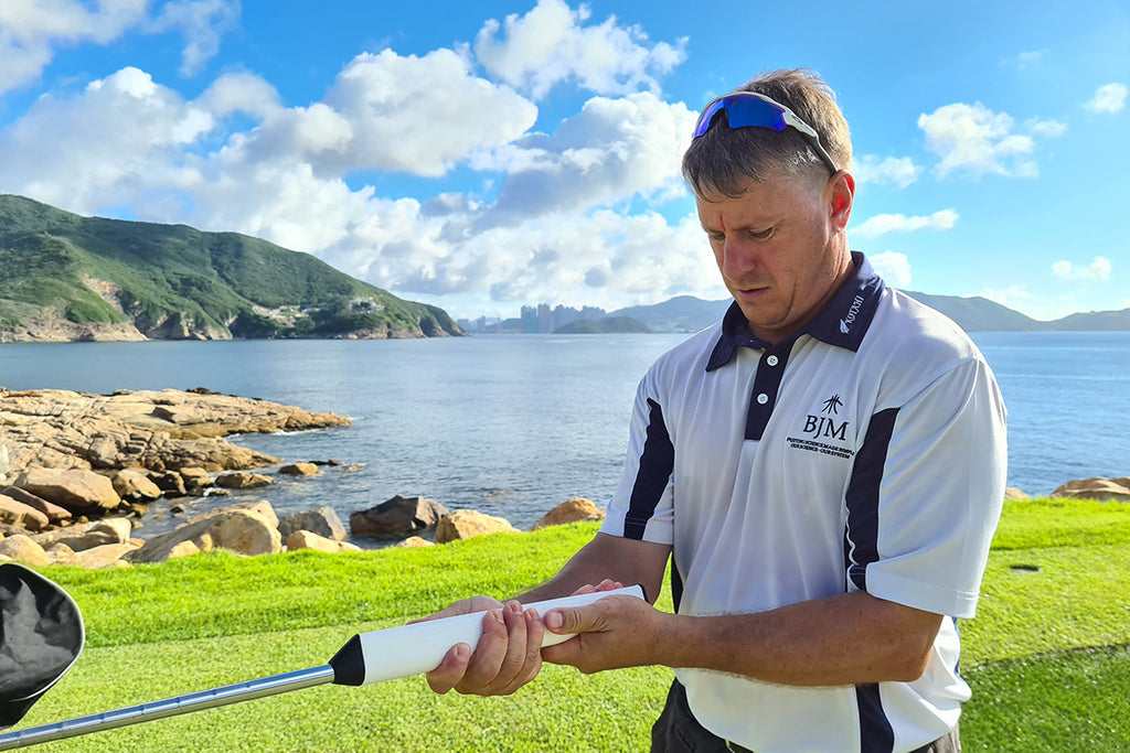 A Quick Nine With...Vaughan Mason from BJM Putter Grips