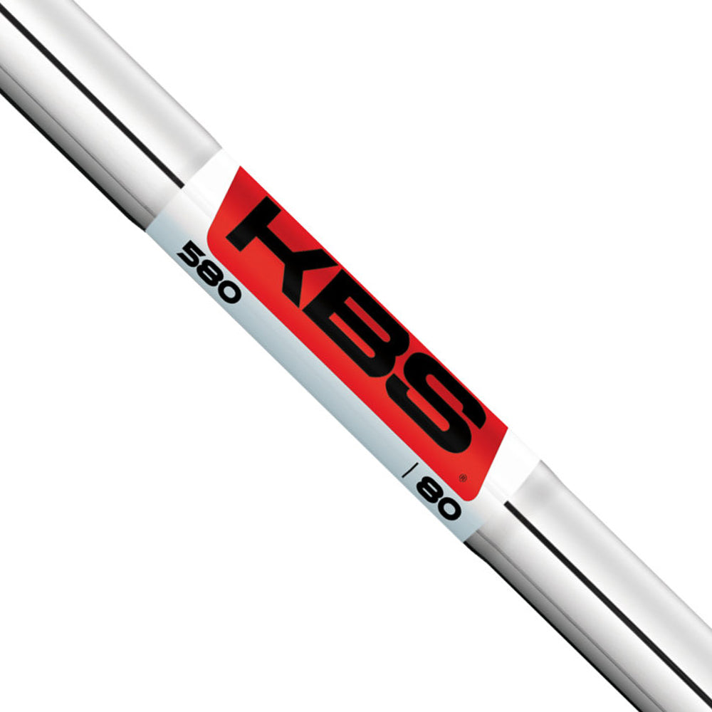 KBS 580 CHROME SHAFTS (.355)