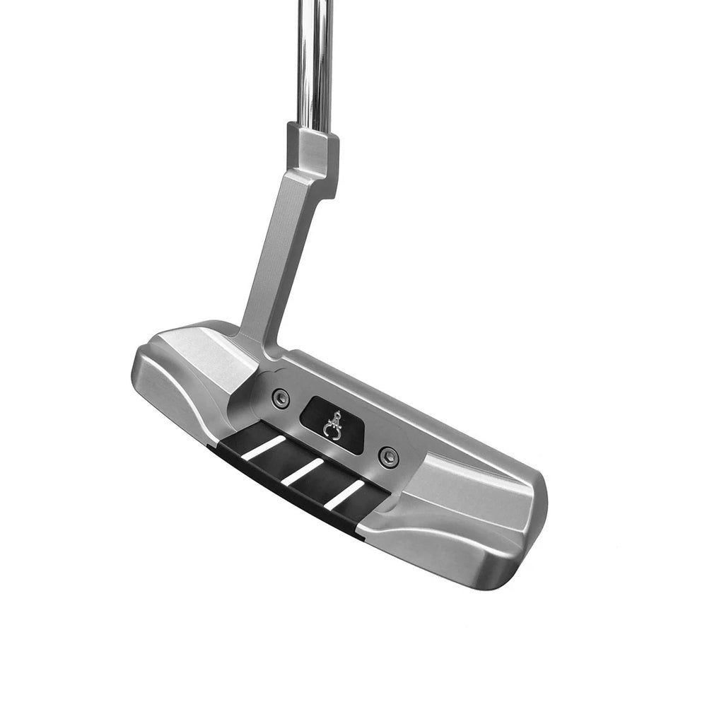 GAUGE DESIGN MIA PROTOTYPE PUTTER SILVER/BLACK - ASSEMBLED 34""