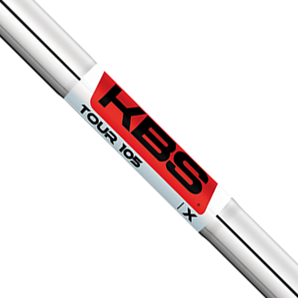 KBS TOUR 105 (PARALLEL) CHROME SHAFTS (.370)