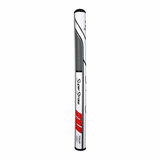 SUPER STROKE TRAXION TOUR XL 2.0 PUTTER GRIP - WHT/RED/GRAY