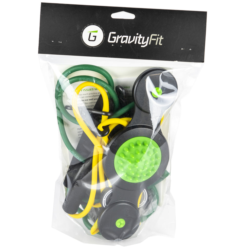 GRAVITY FIT TPRO SWING KIT (GREEN AND YELLOW BAND)