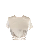 Alice Satin Cropped Top