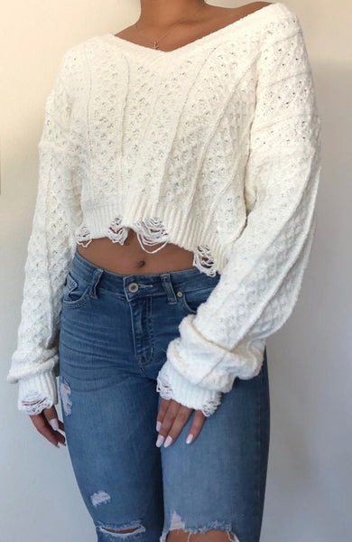 So Cozy Sweater Knit Top