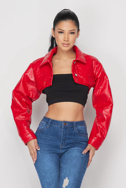 Cant Be Tamed Cropped Jacket