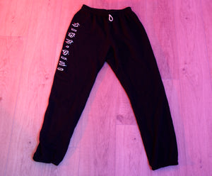 Glitch Katakana Sweatpants - Unisex