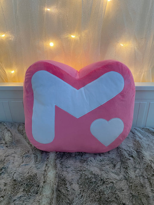 M Logo Pillow