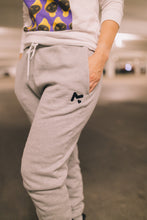 Load image into Gallery viewer, Grey Logo Sweatpants