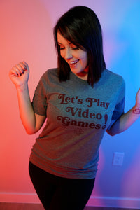 Let's Play Games Vintage Tee - Unisex