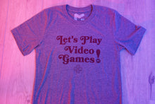 Load image into Gallery viewer, Let's Play Games Vintage Tee - Unisex