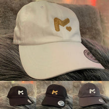 Load image into Gallery viewer, M Logo Dad Hat