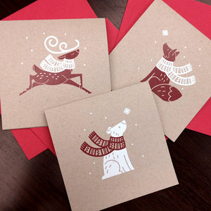 Screen Printed Cards