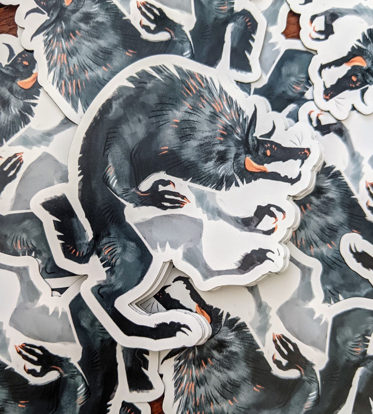 Werewolf Fridge Magnets