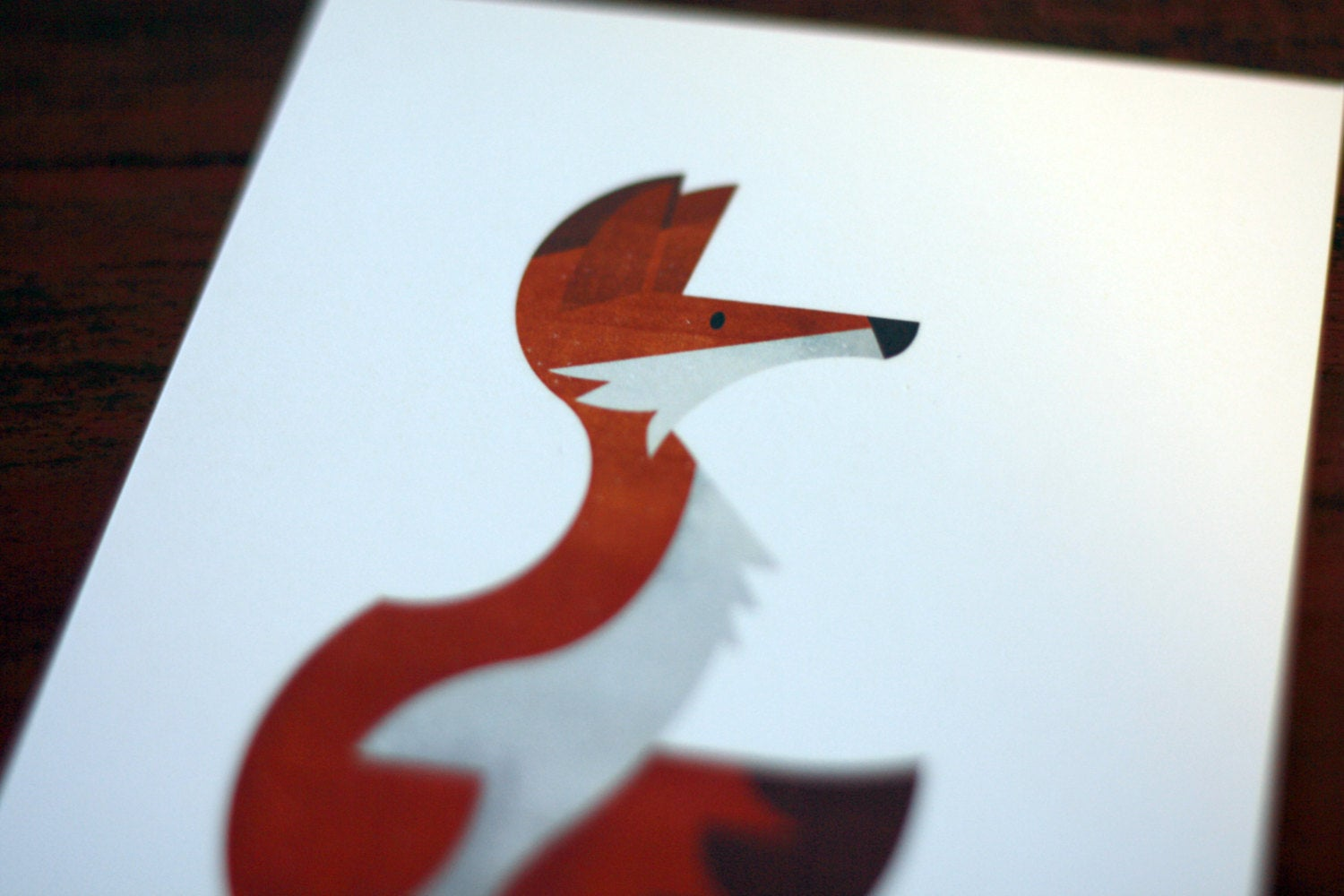 Red Fox - Signed 5x7 Digital Print