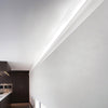 C364-Luxxus Plain Polyurethane Molding for Indirect Lighting. Face: 9