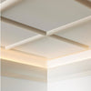 C372-Luxxus Plain Polyurethane Molding for Indirect Lighting. Length: 78-3/4