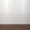 FP7030-Flexible Decorative Polyurethane Panel Molding, Flexible, Primed White. Length: 78-3/4