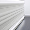 P3070-Luxxus Plain Polyurethane Panel Molding, Primed White. Length: 78-3/4
