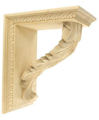 corbels and acanthus leaf with brackets | corbel place