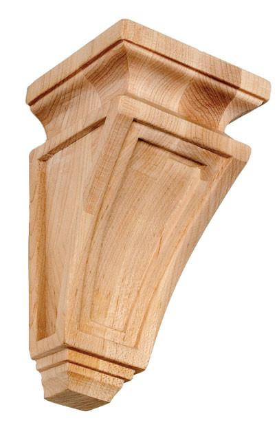 Mission Style Corbel 8 H X 3 7 8 W X 3 7 8 D Wooden