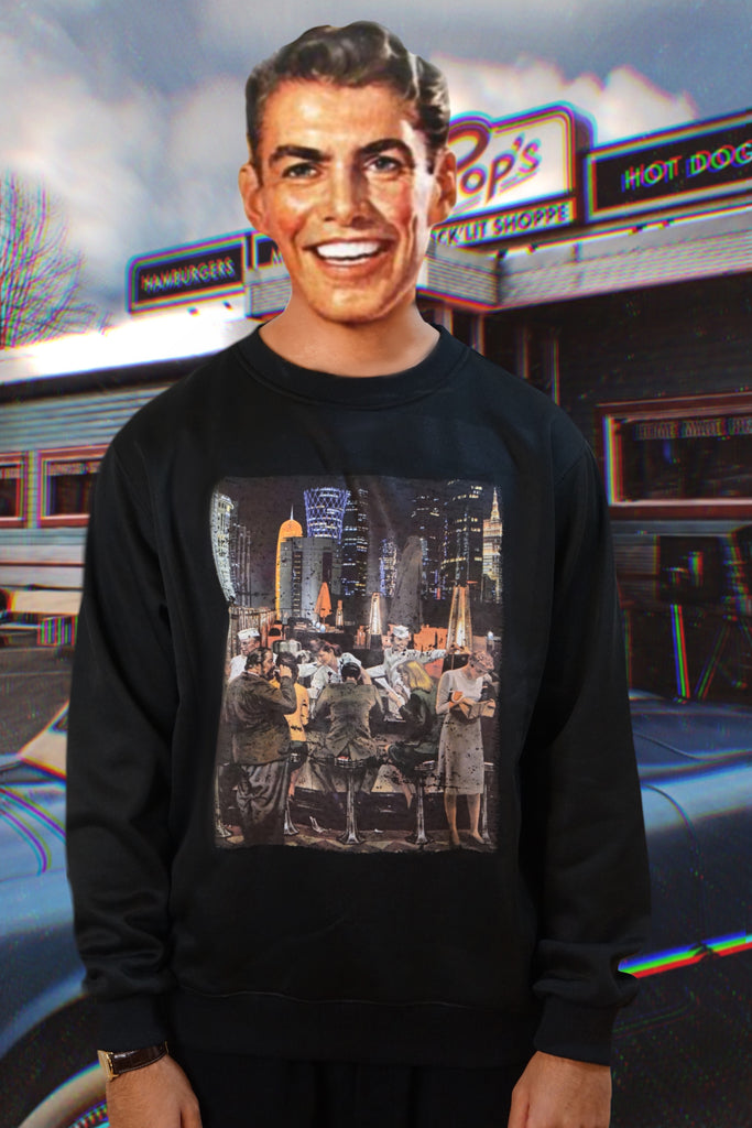 """DOHA DINER"" SWEATER"
