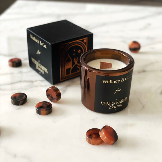 """DEVOTION"" BRONZE CANDLE 