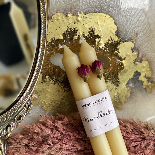 ROSE CANDLE STICK