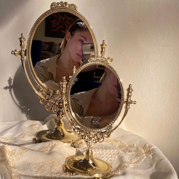 PRINCESS OVAL MIRROR